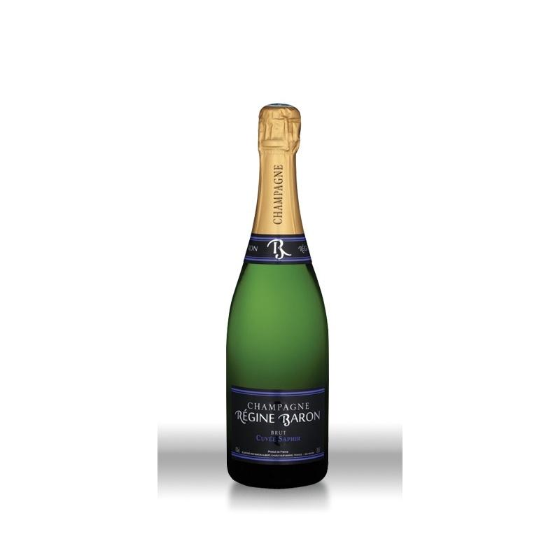 Champagne Régine Baron Cuvée Saphir Blanc BRUT