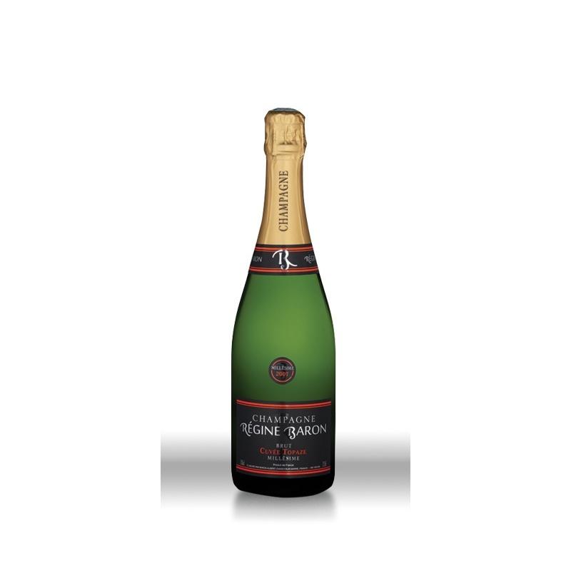 Champagne Régine Baron Cuvée Topaze Blanc Brut
